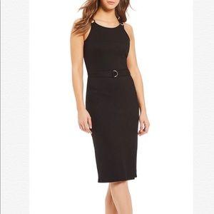 MICHAEL Michael Kors Rib Knit Tank Dress with Belt